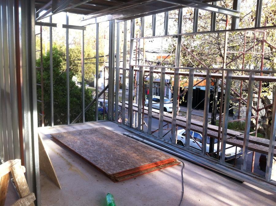 Foto Estructura de Volco Metal 2 Piso de Constructora Valle Verde
