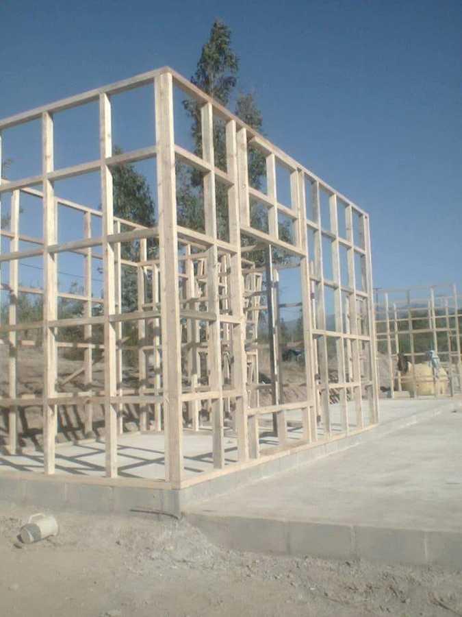 Foto Estructura En Madera Para Casa Habitacional De A G Construcciones 266684 Habitissimo