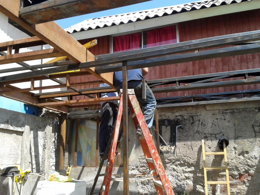 Ampliaci n ideas construcci n casa - Estructura metalica vivienda ...