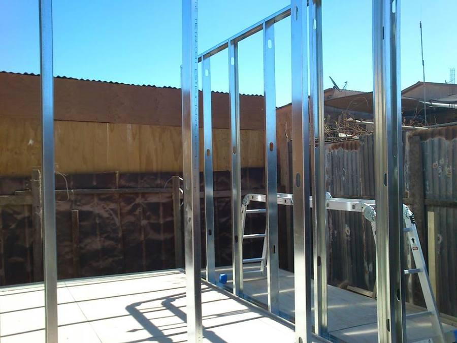 Foto Estructurando Tabiques De Metalcon De Huella Mas