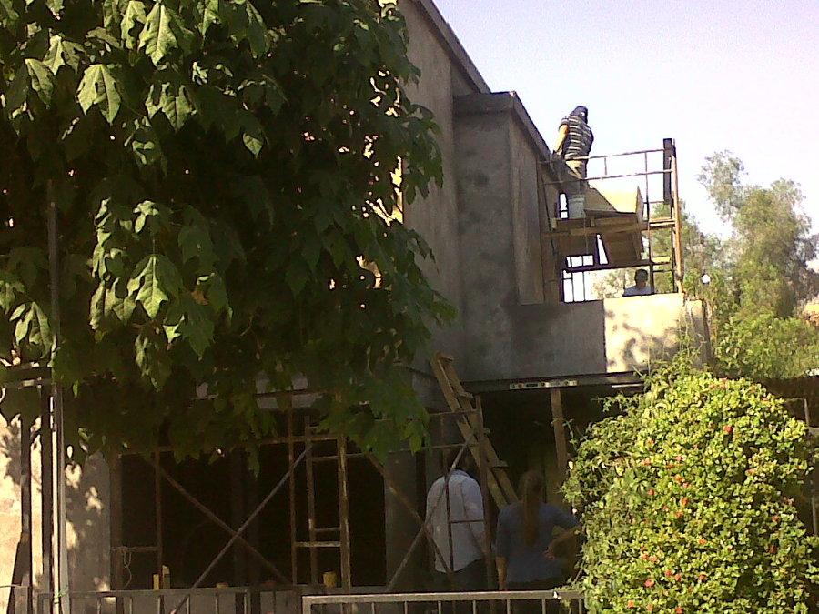 estuco de fachadas