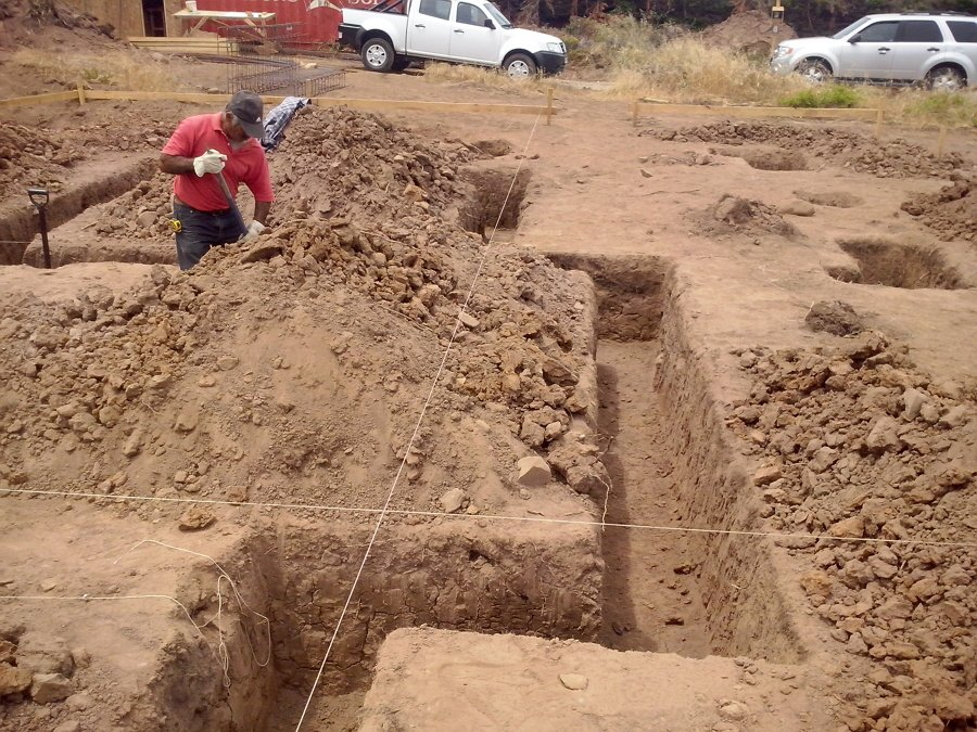 excavacion manual