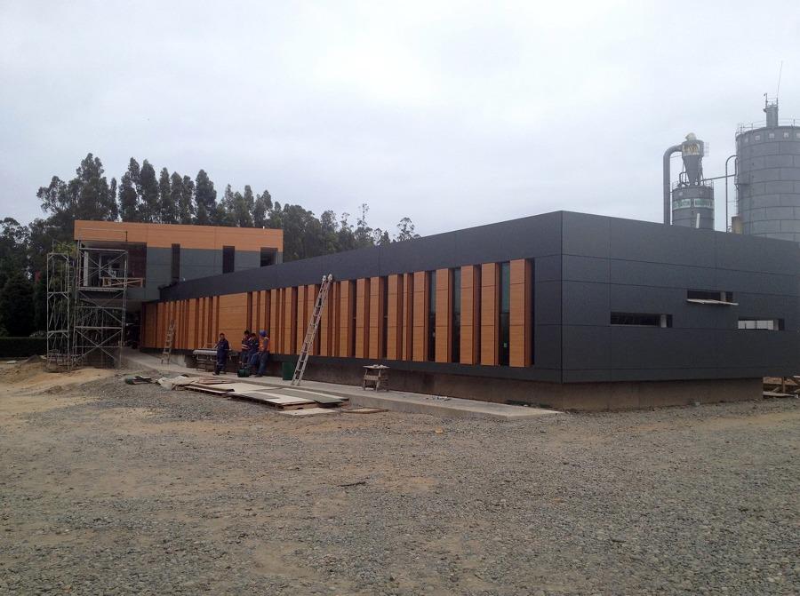 Oficinas corporativas maderas mart n ideas construcci n edificio for Exterior oficinas