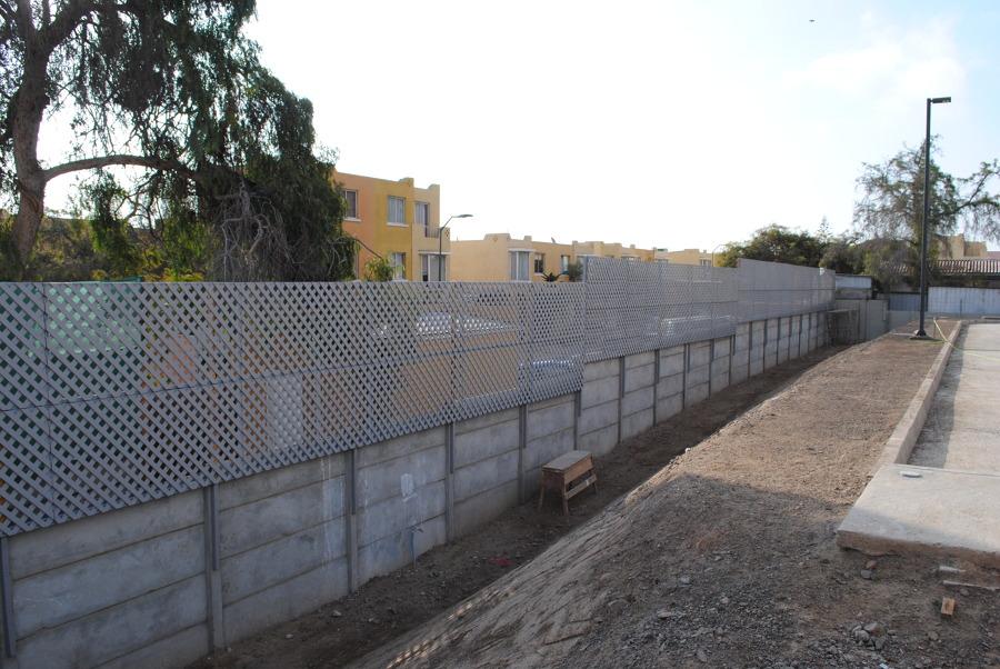 fabricacion de cierre perimetral con treillage