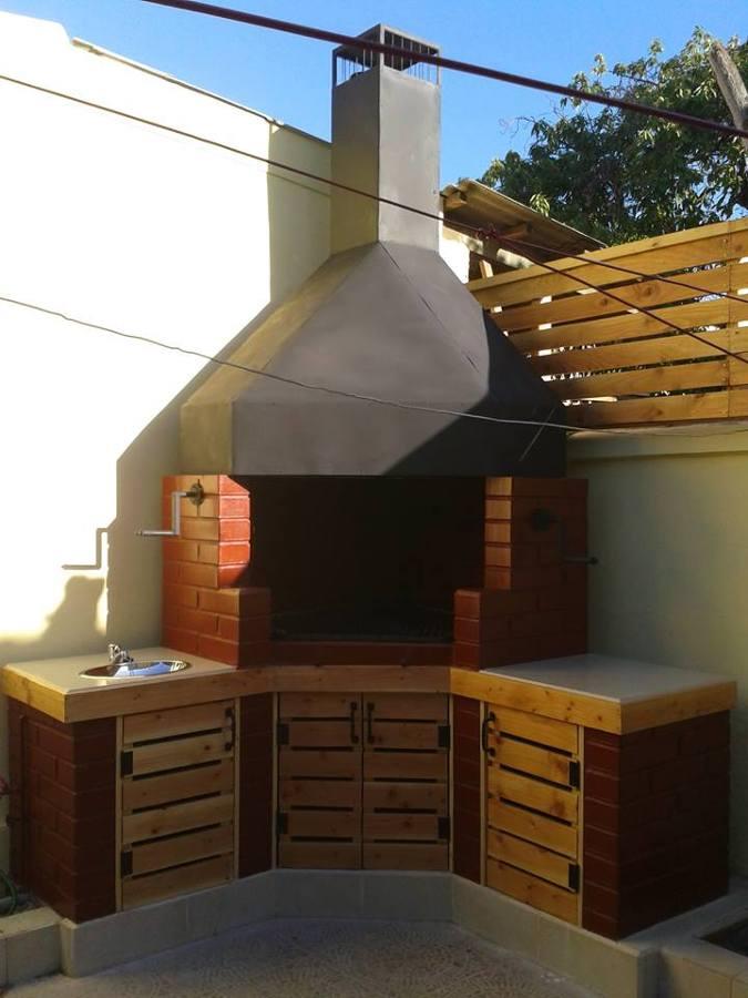 Dise o y fabricaci n de parrilla y campana ideas arquitectos for Parrilla electrica para casa