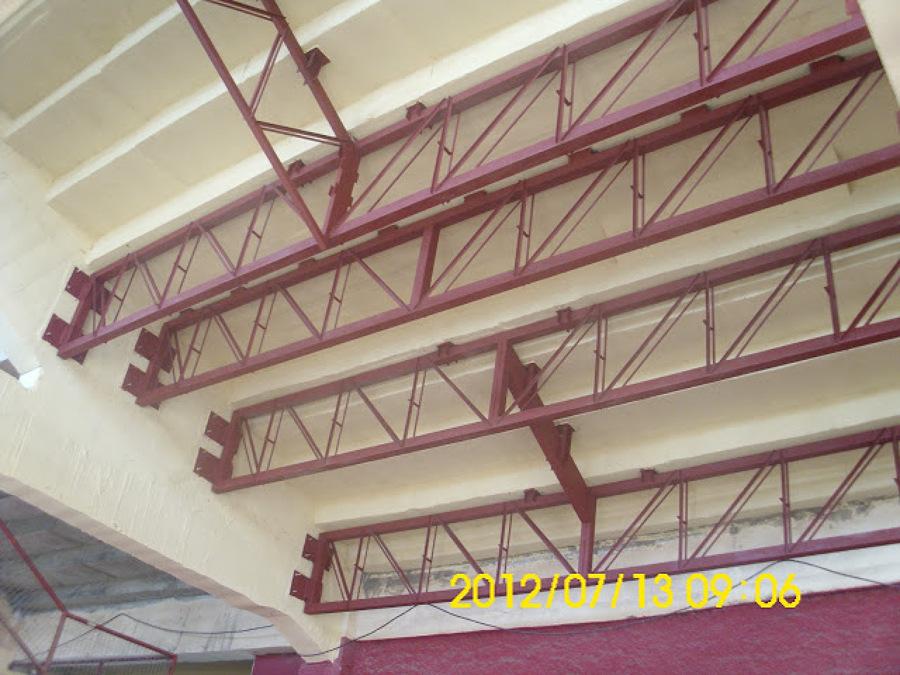 Trabajos varios realizados por camins ideas construcci n - Tipos de vigas metalicas ...