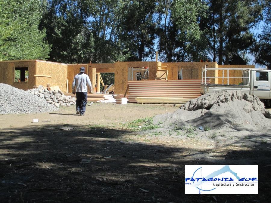 Fachada Principal construcción panel SIP