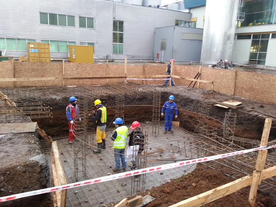 Ejecucion de fundaciones para estanques y estructuras for Estanque de hormigon