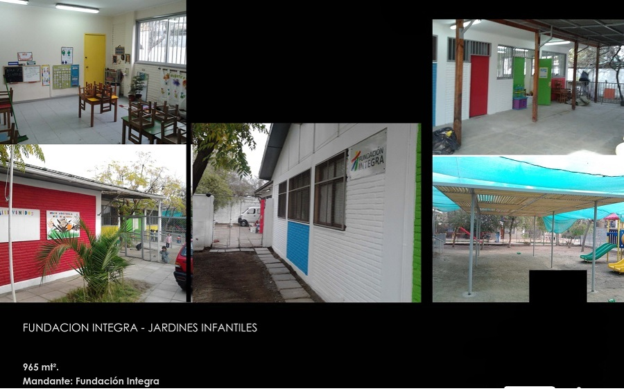 Fundaci n integra ideas construcci n edificio for Jardines integra