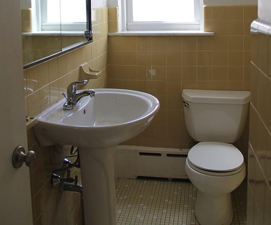 Un baño que parece otro