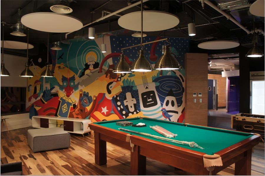 Graffiti Sala de Juegos