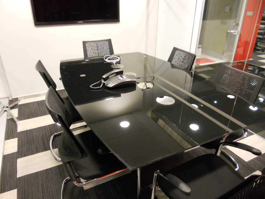 Habilitación oficina CHILEXPO 1