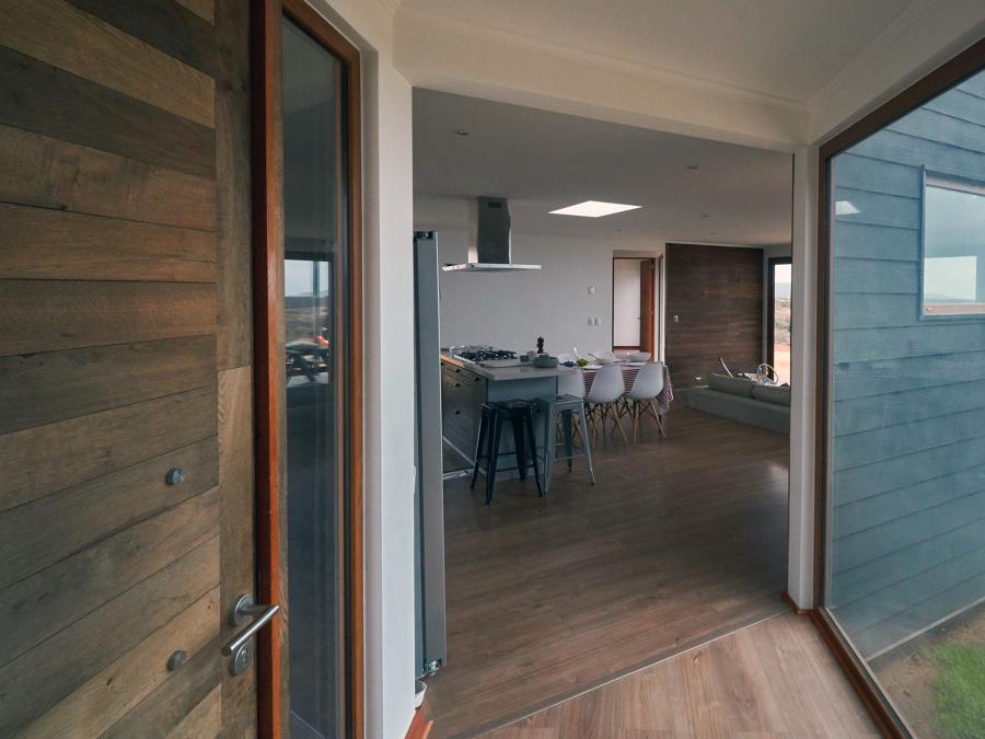 Hall de acceso y espacio común