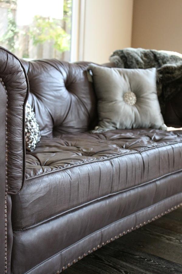 Detalle sofá chester