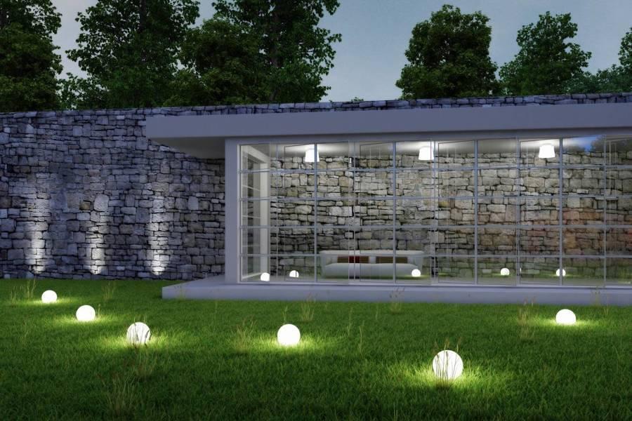 Luces led c mo ahorrar en la boleta de la luz ideas for Iluminacion de jardines modernos