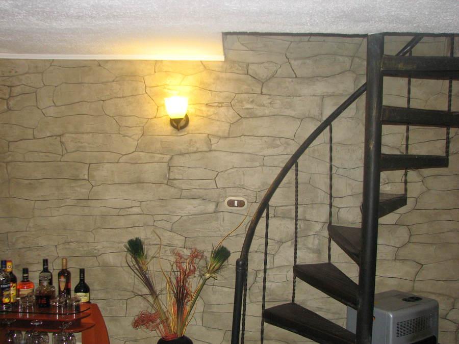 Pintura decorativa ideas pintores - Pintura imitacion piedra ...