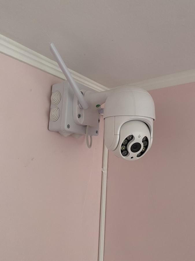 Instalación cámara vigilancia PTZ