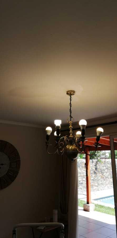 Instalacion de lampara