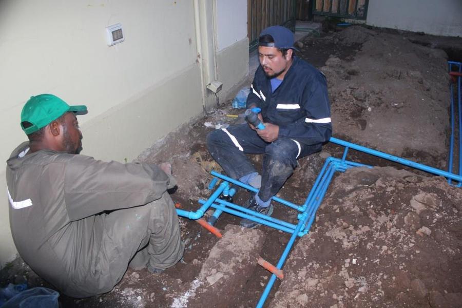 instalacion de manifold