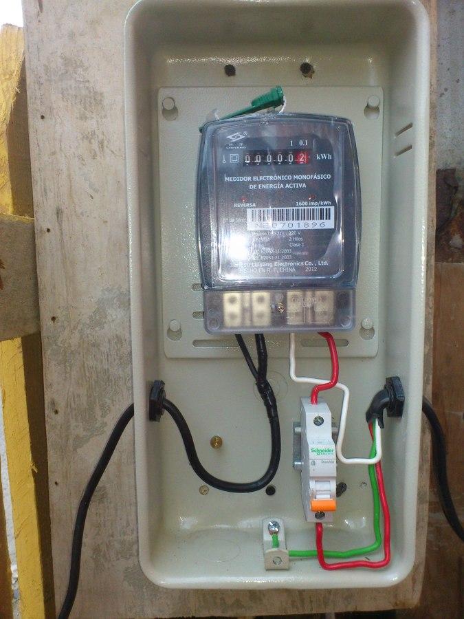 Instalacion electrica de casa great instalacion electrica - Instalacion electrica domestica ...