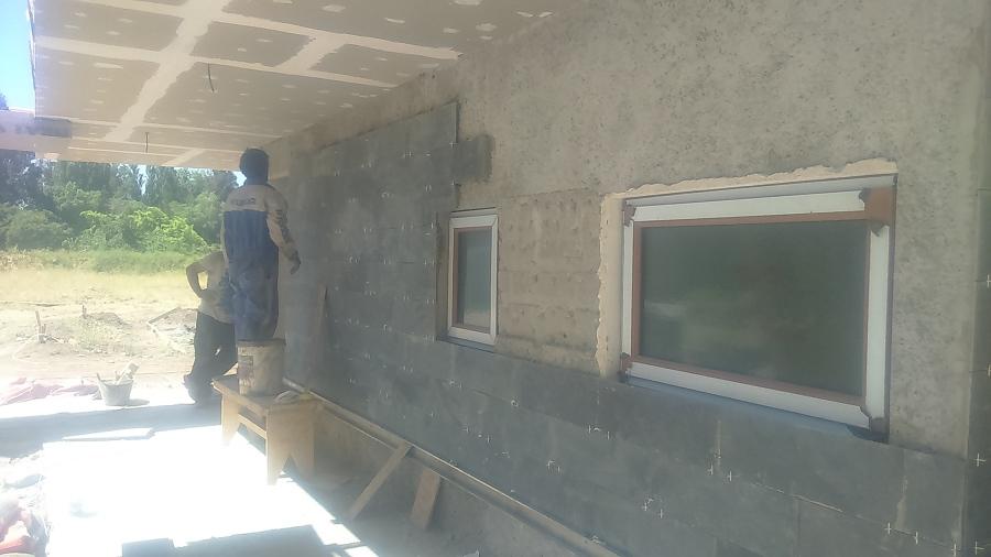 Casa vergara ugalde talagante ideas construcci n casa - Piedra de pizarra ...