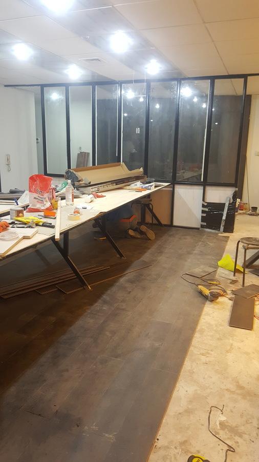 Instalación de piso Novocore