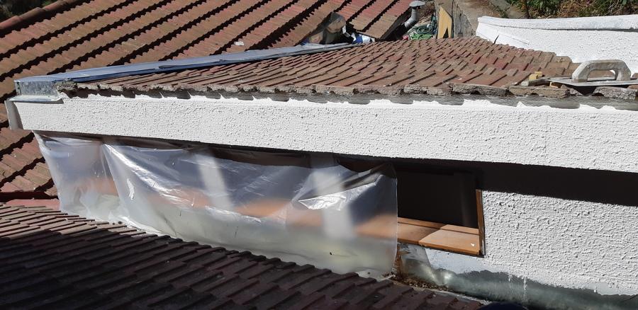 Instalacion de teja Criolla