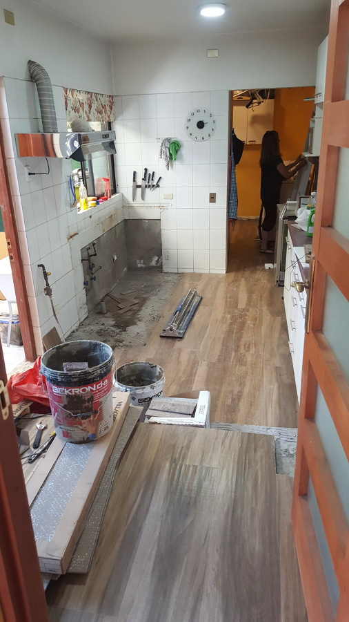 Instalación piso