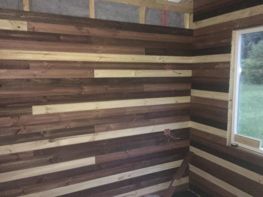 instalalcion de madera y aislacion