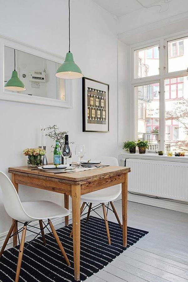 Mesa de madera rústica