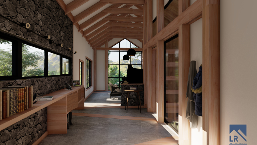 Interior casa L-K