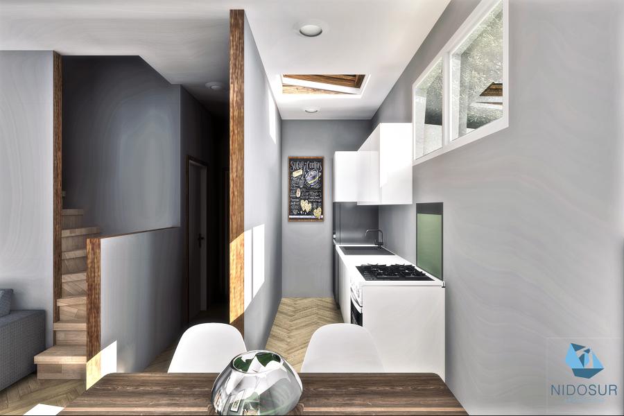 Interior -  Comedor/Cocina