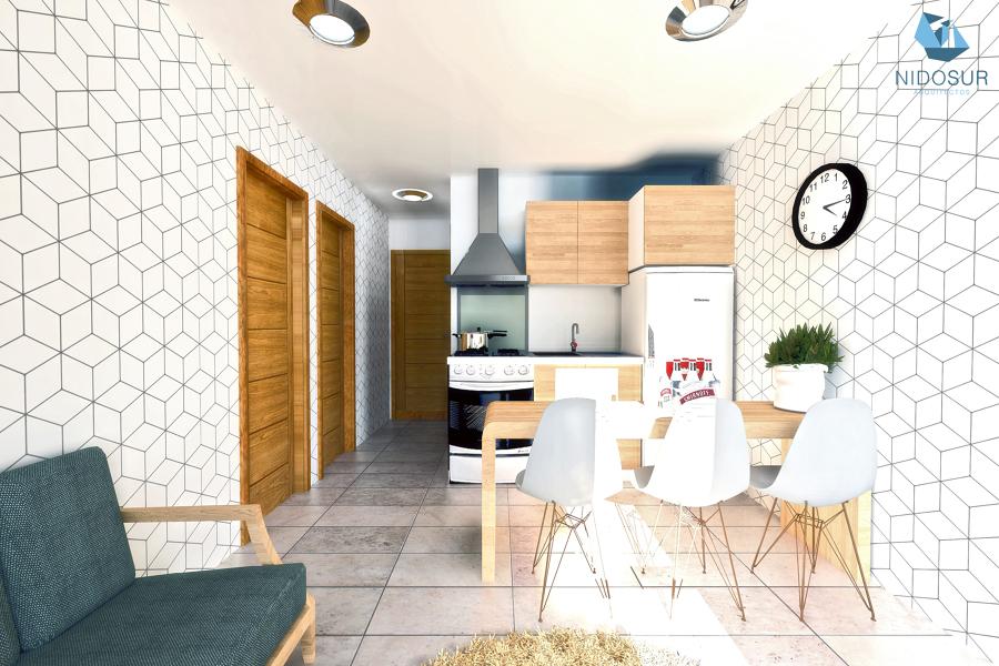 Interior Estar / Cocina