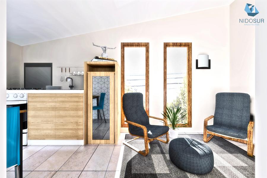 Interior Living / Cocina