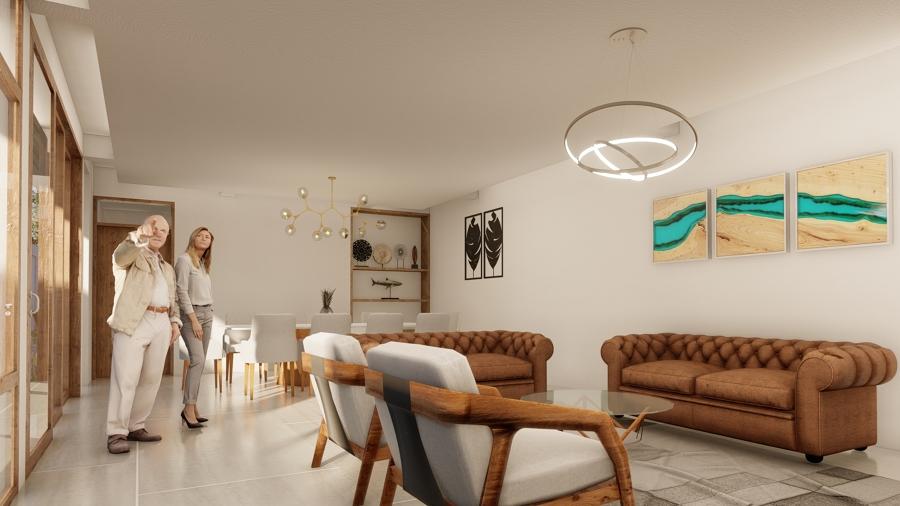 Interior, Living y Comedor