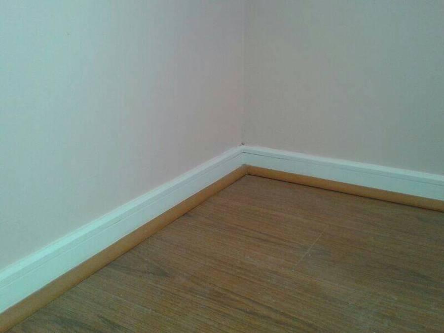 Foto interiores en proceso de terminaciones de for Terminaciones de techos interiores