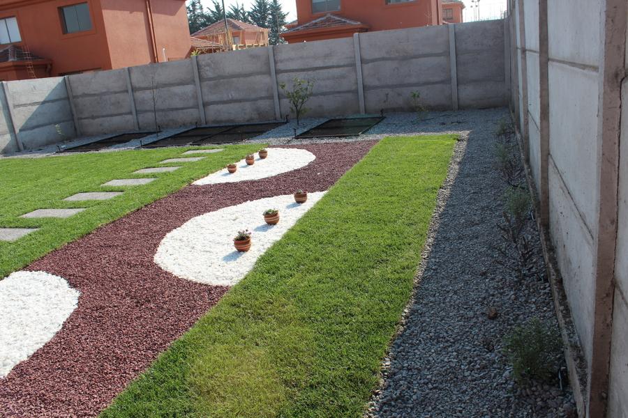 Foto jard n seco de nsarquitectura y paisajismo 149008 for Diseno de jardin seco