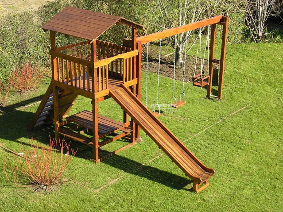 Emejing Juegos De Madera Para Jardin Para Nios ...
