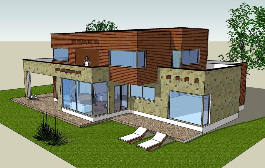 Ka arq vivienda 350 mts valle nongu n estilo for Viviendas sobre terrazas