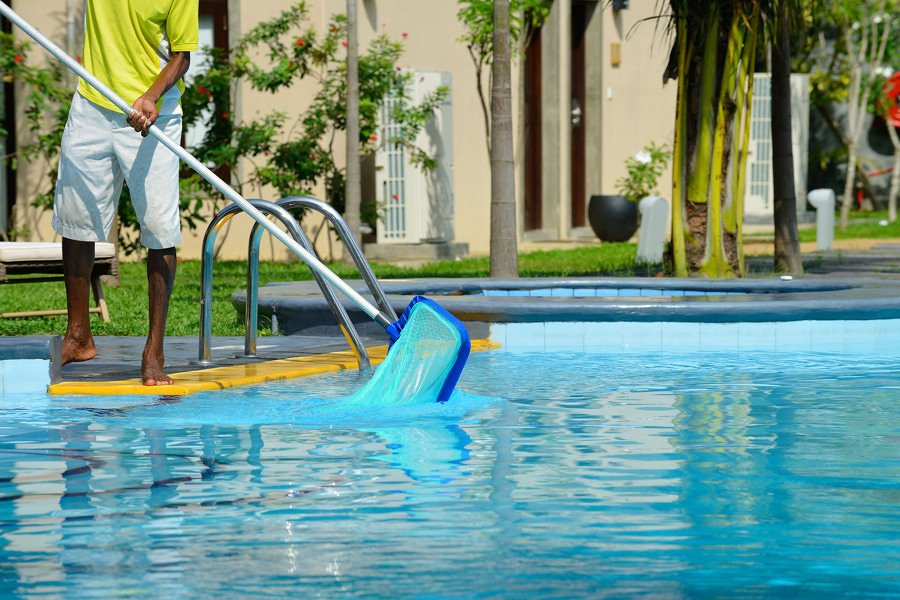 limpiar piscina