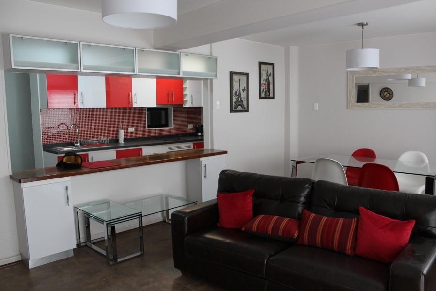 Remodelacion departamento monjitas ideas dise o de for Muebles para living comedor chico