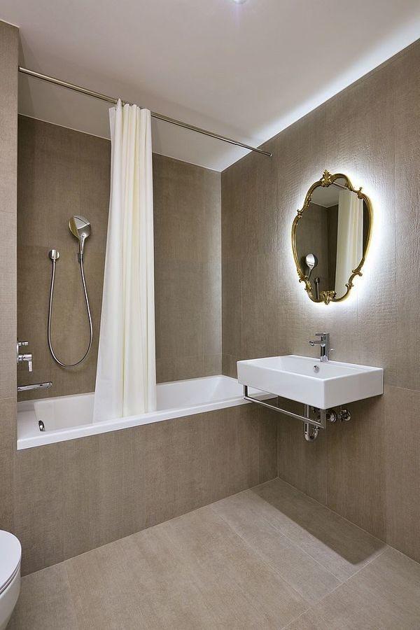luz indirecta en el baño