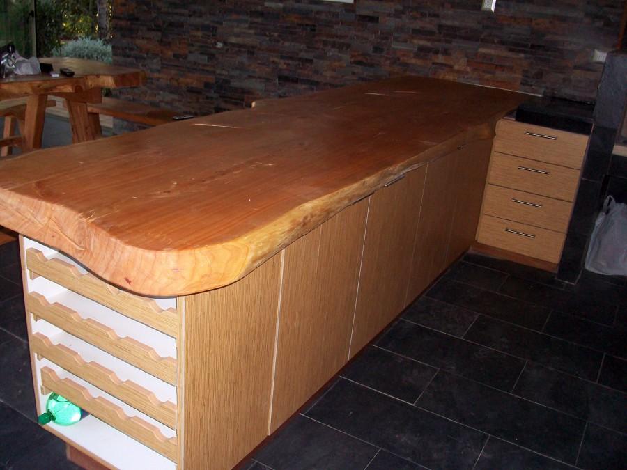 Quincho liray ideas dise o de interiores for Mesones de madera