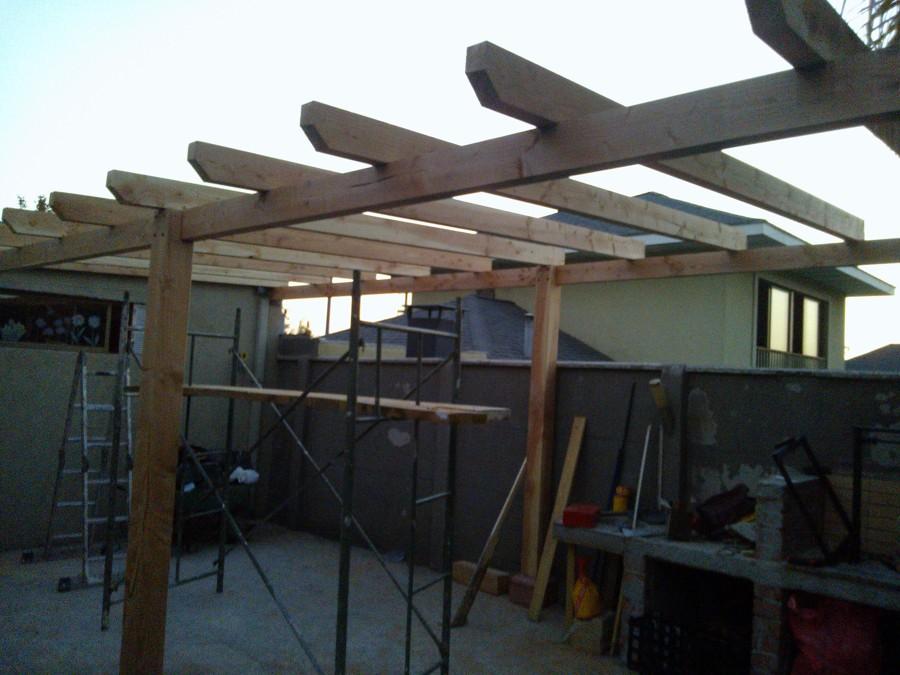 Foto montaje quincho madera de construye proyectos Proyectos en madera gratis