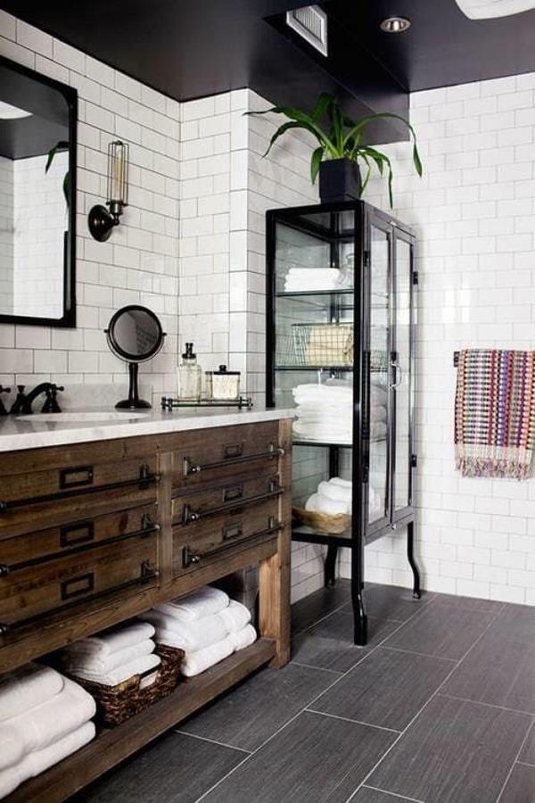 Mueble baño reciclado