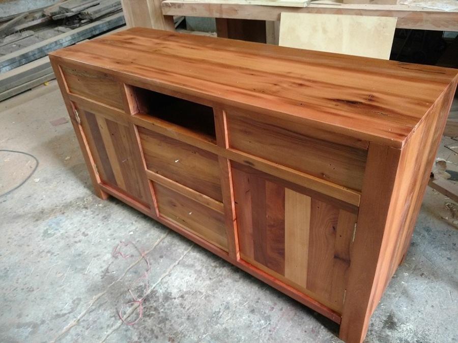 Mueble buffett roble reciclado