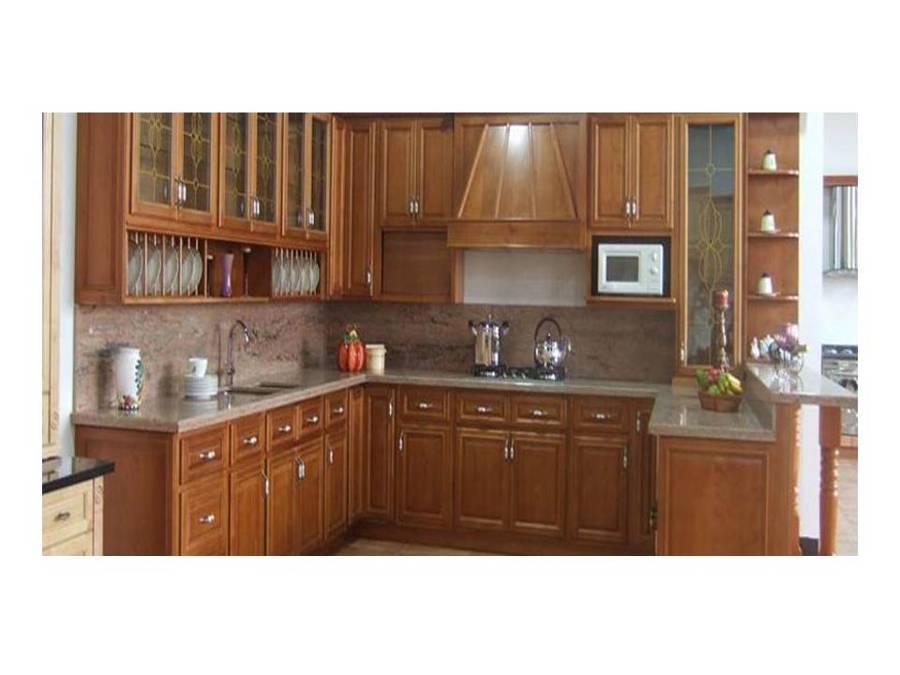 Muebles cocina roble 20170904132407 for Mueble encimera cocina
