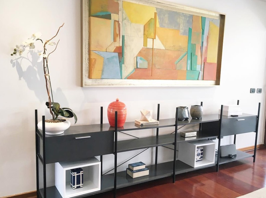 Mueble Metalico Living