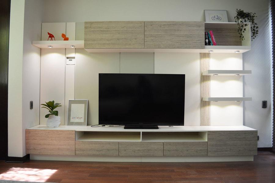 Mueble para sala de tv ideas dise o de interiores for Muebles para sala de tv