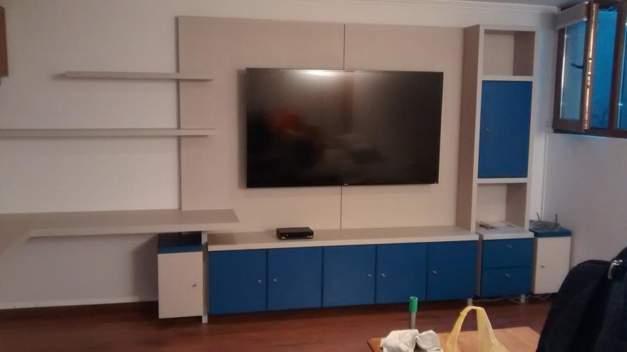 Muebles de cocina y rack tv ideas carpinteros for Mueble rack